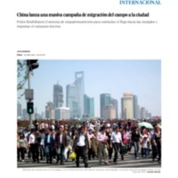 China lanza una masiva campaña de migración del campo a la ciudad _ Internacional _ EL PAÍS.pdf