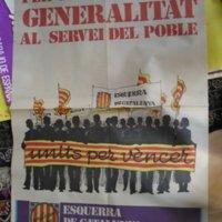 Candidatura Esquerra de Catalunya-Front Electoral Democratic para las elecciones al Congreso de 1977.JPG