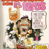 """Portada de """"Solidaridad con El Papus"""""""