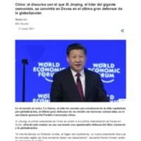 China_ el discurso con el que Xi Jinping, el líder del gigante comunista, se convirtió en Davos en el último gran defensor de la globalización - BBC Mundo.pdf