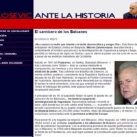 Milosevic ante la Historia. Especial El Mundo.