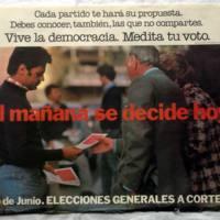 Cartel institucional animando al voto en las elecciones generales de 1977.JPG