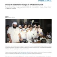 Decenas de manifestantes irrumpen en el Parlamento kuwaití _ Internacional _ EL PAÍS.pdf