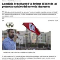La policía de Mohamed VI detiene al líder de las protestas sociales del norte de Marruecos.pdf