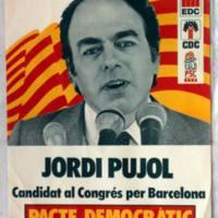 Propaganda del pacto Democrático por Cataluña para las elecciones al Congreso de 1977.JPG