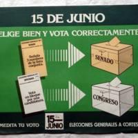 Cartel institucional explicativo con motivo de las elecciones generales de 1977.JPG