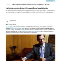 Los bancos centrales alertan del riesgo de frenar la globalización _ Economía _ EL PAÍS.pdf