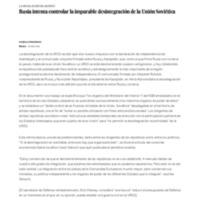 Rusia intenta controlar la imparable desintegración de la Unión Soviética _ Edición impresa _ EL PAÍS.pdf