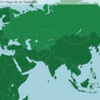 Ex Unión Soviética: Países - Juego de Mapas